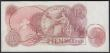London Coins : A160 : Lot 102 : Ten Shillings Hollom B296, scarce first run Replacement note series M19 078661, (Pick373b), about Un...