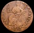 London Coins : A160 : Lot 1284 : USA Halfpenny 1787 Connecticut Breen 828 Fine