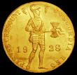 London Coins : A160 : Lot 3378 : Netherlands Ducat 1928 Trade Coinage KM#83.1a UNC