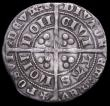 London Coins : A161 : Lot 1426 : Groat Edward III Treaty Period London Mint, S.1616, North 1247 double Saltire stops both sides, unba...
