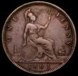 London Coins : A162 : Lot 3029 : Penny 1861 Freeman 18 dies 2+D Fine, rated at R13 by Freeman, probably rarer than Freeman suggests, ...