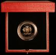 London Coins : A163 : Lot 1989 : Jamaica $100 2000 Millennium Gold Proof KM#188 Gold Proof, in the Royal Mint box of issue with certi...