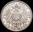 London Coins : A163 : Lot 2447 : German States - Prussia 2 Marks 1906A KM#522 AU/UNC and lustrous