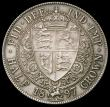 London Coins : A163 : Lot 2598 : Halfcrown 1897 ESC 731, Bull 2783 A/UNC