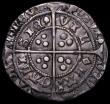 London Coins : A163 : Lot 273 : Groat Henry VI Pinecone-Mascle issue, Calais Mint S.1875 mintmark Cross Patonce NVF/VF