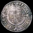 London Coins : A163 : Lot 274 : Groat Henry VII Profile issue, Regular issue with triple band to crown, S.2258 mintmark Cross Crossl...