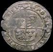 London Coins : A163 : Lot 281 : Groat Henry VIII Posthumous Issue, Tower Mint, S.2403, mintmark -/Grapple, two edge cracks at 8 and ...