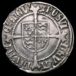 London Coins : A163 : Lot 298 : Halfgroat Henry VII Canterbury Mint, S.2261 mintmark Martlet, a flan crack between the H and E of HE...