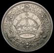 London Coins : A164 : Lot 930 : Crown 1933 ESC 373, Bull 3644, NEF toned the obverse with some contact marks