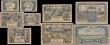 London Coins : A165 : Lot 1239 : Memel a complete set (9) Notgeld 50 Pfennig to 100 Mark 1922 Pick 1 to 9. A complete set of these ea...