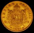 London Coins : A165 : Lot 2161 : France 20 Francs Gold 1868 BB KM#801.2 VF