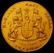 London Coins : A165 : Lot 2198 : India - Madras Presidency Gold Mohur undated (1819) Small Letters on Obverse KM#421.1 NEF with some ...