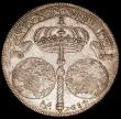 London Coins : A165 : Lot 2215 : Italian States - Naples Ducato 1684 IM/AG/A KM#110, F.292, Dav.4045 practically EF with some adjustm...