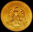 London Coins : A165 : Lot 2230 : Mexico 50 Pesos Gold 1947 KM#481 GEF