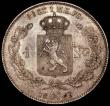 London Coins : A165 : Lot 2235 : Norway Speciedalar 1849 KM#317 GVF, Rare