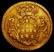 London Coins : A165 : Lot 2242 : Portugal Gold Escudo 1747 No stop at end of obverse legend KM#219.9 Good Fine/Fine with some adjustm...