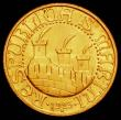 London Coins : A165 : Lot 2248 : San Marino 20 Lire Gold 1925R KM#8 UNC or near so and lustrous, the reverse with a scratch below the...