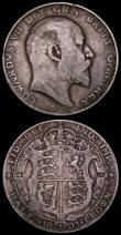 London Coins : A165 : Lot 2770 : Halfcrowns (2) 1905 ESC 750, Bull 3571 Fair with some misty areas, 1903 ESC 748, Bull 3569 NVG both ...