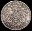 London Coins : A165 : Lot 3627 : Germany - Prussia 2 Marks 1901 200 Years PCGS MS65