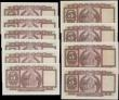London Coins : A165 : Lot 621 : Hong Kong and Shanghai Banking Corporation 5 Dollars (10) comprising Pick 181a signature titles Chie...