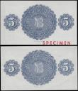 London Coins : A165 : Lot 713 : Northern Ireland Northern Bank Limited Belfast 5 Pounds (2) an assortment of a SPECIMEN note similar...