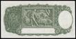 London Coins : A166 : Lot 113 : Australia Commonwealth 1 Pound issued 1949, series W/30 034617 signed Coombs & Watt, portrait Ki...