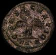 London Coins : A166 : Lot 1422 : Roman Bi. Antoninianus Divo Nigrinian, Rome 284-5 Rev. CONSECRATIO, Eagle with outspread wings (RCV ...
