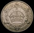London Coins : A166 : Lot 1567 : Crown 1933 ESC 373, Bull 3644 GEF/EF with a hint of toning, the obverse with some light surface resi...