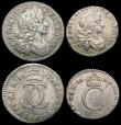 London Coins : A166 : Lot 1868 : Maundy Set 1683 ESC 2379, Bull 606 comprising Fourpence 1683 ESC 1857, Bull 639 Fine, Threepence 168...