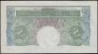London Coins : A166 : Lot 40 : One Pound Green Catterns SPECIMEN B225s issue 1930 serial number Q00 000000 and red SPECIMEN. overpr...