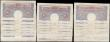 London Coins : A166 : Lot 46 : One Pounds Peppiatt World War II Emergency issues B249 Blue/Pink issues 1940 (24) in mixed grades av...