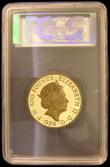 London Coins : A166 : Lot 585 : Five Hundred Pounds Britannia 2019 5oz. of .999 Gold Proof FDC , Spirit of the Nation comes with Roy...
