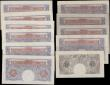 London Coins : A167 : Lot 1330 : Bank of England Peppiatt Second Period World War 2 Emergency issues 1940 (11) in various grades VF t...