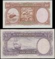 London Coins : A167 : Lot 1580 : New Zealand Reserve Bank signature Fleming ND 1967 issues with security thread (2) comprising 10 Shi...