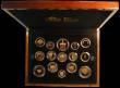 London Coins : A167 : Lot 176 : The 2013 United Kingdom Gold Proof Set a 15-coin set comprising Five Pound Crown 2013 60th Anniversa...