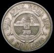 London Coins : A167 : Lot 2369 : South Africa Two Shillings 1892 KM#6 EF with a pleasing light tone, the obverse with minor contact m...