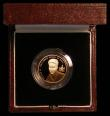 London Coins : A167 : Lot 238 : Alderney £25 2003 Prince William 21st Birthday Gold Proof KM#32, one small area of toning othe...