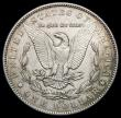 London Coins : A167 : Lot 2385 : USA Dollar 1891CC Breen 5624 the 'Spitting Eagle' variety, EF and hairlined in the fields