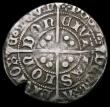 London Coins : A167 : Lot 376 : Groat Edward IV Second Reign, London Mint, Fleurs on Cusps, no marks by bust, S.2098, North 1631 min...