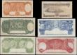 London Coins : A168 : Lot 106 : Australia Commonwealth & Reserve Bank Coombs and Wilson signatures issues (6) in various grades ...
