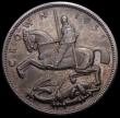 London Coins : A168 : Lot 1167 : Crown 1935 Raised Edge Proof ESC 378, Bull 3655 About UNC with grey tone and some contact marks, in ...