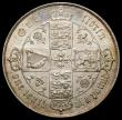 London Coins : A168 : Lot 1222 : Florin 1866 ESC 828 Die Number 25 nicely toned EF reverse better and prooflike, the obverse with som...
