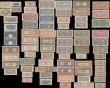 London Coins : A168 : Lot 218 : Japan & World War II Japanese occupation notes (73) in average VF or better including various de...