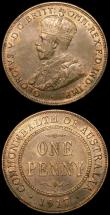 London Coins : A168 : Lot 748 : Australia (2) Florin 1934/35 Melbourne Centenary KM#33 Near EF with some contact marks, scarce, Penn...