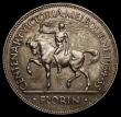 London Coins : A168 : Lot 749 : Australia Florin 1934-1935 Centenary of Victoria and Melbourne KM#33 toned EF