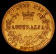 London Coins : A168 : Lot 756 : Australia Sovereign 1870 Sydney Branch Mint Marsh 375 NGC XF45
