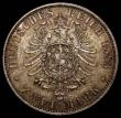 London Coins : A168 : Lot 781 : German States - Prussia 2 Marks 1883A KM#506 UNC and with a choice golden tone, one of the lowest mi...