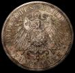 London Coins : A168 : Lot 783 : German States - Prussia 5 Marks 1898A KM#523 a rare Proof issue, retaining considerable brilliance a...