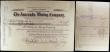 London Coins : A169 : Lot 13 : USA Mining Share Certificates, Cripple Creek Colorado (2) The Doctor Jack Pot Mining Company certifi...