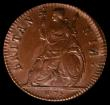 London Coins : A169 : Lot 1353 : Farthing 1675 Peck 528 A superb and choice piece in an LCGS holder and graded LCGS 82. A well struck...